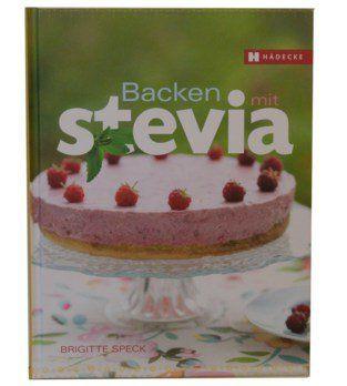 Buch Backen mit Stevia / Speck