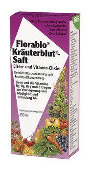 FLORABIO Kräuterblut-Saft