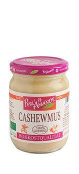 Cashewmus, bio & roh