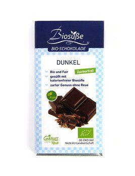 Biosüße Bio-Schokolade Dunkel