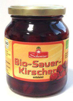 Bio Sauerkirschen