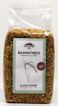 Planet Nature Bio Basmatireis natur 500g