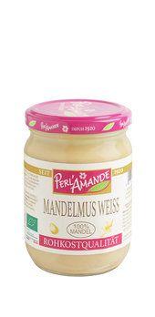 Mandelmus, weiss, bio & roh