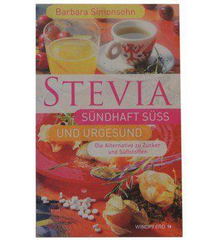 Buch Stevia - Simonsohn