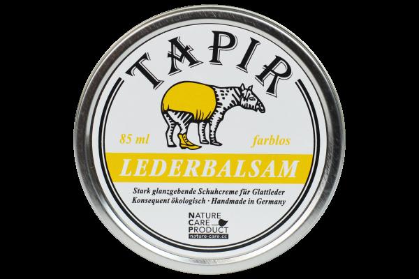 Lederbalsam farblos in Weißblechdose, 85 ml